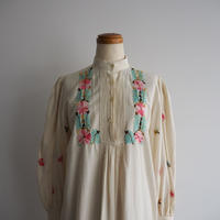 1970s Handmade Embroidered Tunic