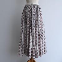 Antique Victorian Floral Skirt
