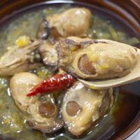 スモーク牡蠣