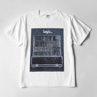 pinewaves / Logic System × SUKITA photo Tshirt (white)