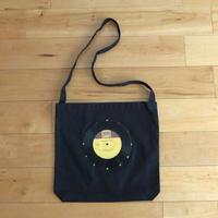 本物のレコードを使ったショルダーバッグ「bagu」ブラック ST-003BK