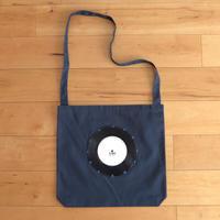 本物のレコードを使ったショルダーバッグ「bagu」ミッドナイトブルー  ST-007N