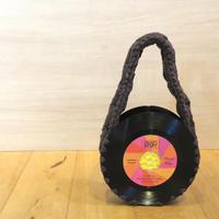 レコードバッグ bagu cotton strings brown アップサイクル(UP cycle)  AB-102CBR