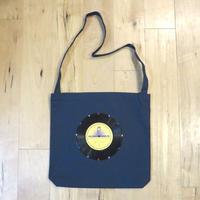 本物のレコードを使ったショルダーバッグ「bagu」ミッドナイトブルー ST001-N009