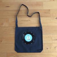 本物のレコードを使ったショルダーバッグ「bagu」ミッドナイトブルー  ST-005N