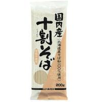 【ムソー】国内産・十割そば 200g (21018)