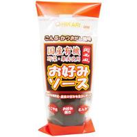 【ヒカリ】お好みソース関西風・チューブ 300g (10852)