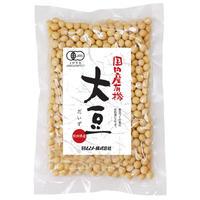 【ムソー】国内産有機・大豆 200g (20839)