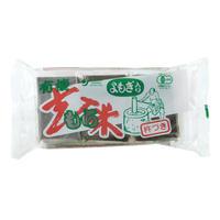 【オーサワ】有機よもぎ入玄米もち 300g(6個) (0601)