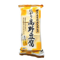 【ムソー】有機大豆使用にがり高野豆腐 6枚 (21623)