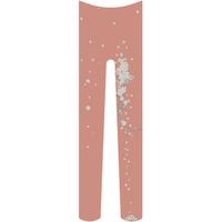 桜タイツ 珊瑚色