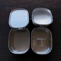 Lunchbox 《 角型 / 小 / 2段 》