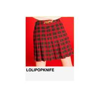 【残りわずか再入荷なし】2way巻きプリーツスカート RED