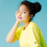 """""""飴玉包丁""""Tシャツ yellow"""