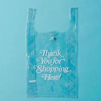 PVC shoppingbag  ・white
