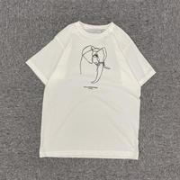 ぞうさん プリントTシャツ ユニセックス