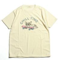 CHILL PUG パイルTシャツ