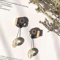 antique beads  2way pierce