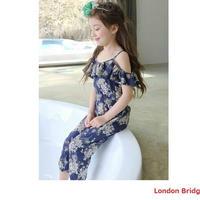 サマーパンツ 子供服 女の子 韓国子供服 ロング フレアパンツ ロングパンツ ズボン ワイドパンツ オールインワン 100‐140 可愛い 大人顔負け 大人っぽい 送料無料 TAGX11027