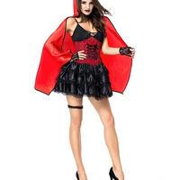 コスチューム コスプレ衣装 その他のコスプレ衣装 ハロウィン 魔女 デビル 小悪魔 魔法使い 吸血鬼 ヴァンパイア 仮装 セクシー コスプレ 女王 悪魔 パーティー TAGX11379