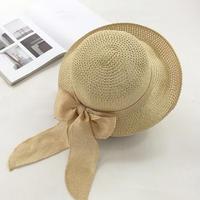 レディース 麦わら 帽子 夏 ハット UVカット UV帽子 日焼け止め UV対策 紫外線カット 紫外線対策 ベージュ ライトブラウン ダークブラウン ネイビー 通勤 通学 送料無料 TAGX11033