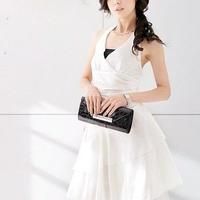 ドレス 結婚式二次会 プチプラ ワンピース パーティードレス フォーマル 結婚式ドレス 大人 上品 ドレスワンピ Aライン ミディアム お呼ばれ レディース ママ TAGX10921
