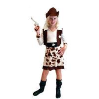 キッズ ハロウィン コスチューム 女の子 カウガール 衣装 仮装 変装 キャラクター 舞台 ウエスタンガール 西部劇 4点セット 親子コーデ 送料無料 TAGX11262