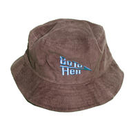 LONELY論理#16 GO TO HELL地獄 CORDUROY BUCKET HAT