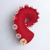 蛸ブローチ(A)
