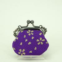 1.2寸豆角 ちりめん 桜 紫色