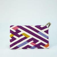 名刺カードケース 紗綾形紫