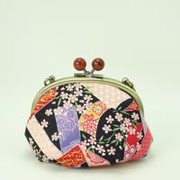 4.0寸ラクト玉クサリ付 熨斗と桜 黒色