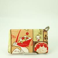 名刺カードケース レトロ看板 ピンク色①