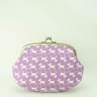 5.5寸クシポーチ やぎ 紫色