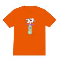 復活しゅわしゅわTシャツ(オレンジ)【long-180017~20】