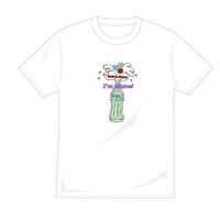 復活しゅわしゅわTシャツ(白)【long-180009~12】