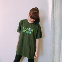 春一番にロゴTシャツ(緑)【long-190009~12】