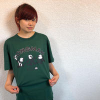 FELIX THE CAT×LONGMAN Tシャツ(緑)