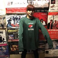 外国の方におすすめのロンT(緑)【long-180049~51】