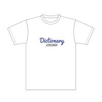 ディクショナリーTシャツ(白)【long-190038~41】