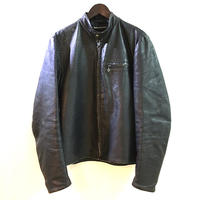 "【 VINTAGE 】AMF ""HARLEY-DAVIDSON"" LEATHER SINGLE RIDERS JACKET ( 実寸L )"