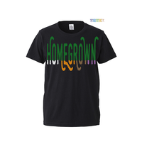"【 ARIGATO FAKKYU 】""HOME GROWN"" PRINTED T-SHIRT ( #1 BLACK )"