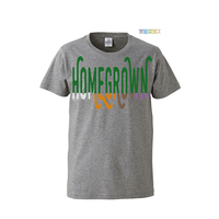 "【 ARIGATO FAKKYU 】""HOME GROWN"" PRINTED T-SHIRT ( #3 HEATHER GRAY )"