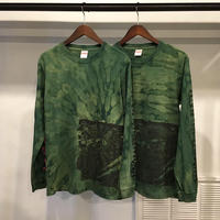 "【 THE ARROW BOYS × LONG SET 】LSD-036 ""DARK THRONE"" L/S T-SHIRT ( GREEN )"