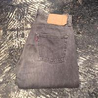 【OLD】 Levi's 501 BLACK DENIM PANTS (W29×L34)