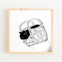 Havana Brown × Hand Bag