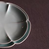 青白磁お皿 大 PS010