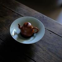 青白磁葵口皿-小 PW010