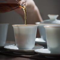 白釉茶杯 PG043