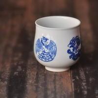 手描き茶杯 團龍團鳳 PC013